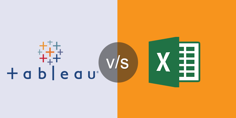 Comparing Tableau with Microsoft Excel