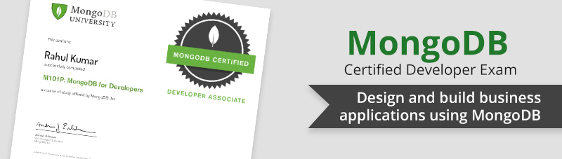 MongoDB Certified Developer Exam