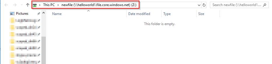 Azure file drive created-Azure Storage-Intellipaat