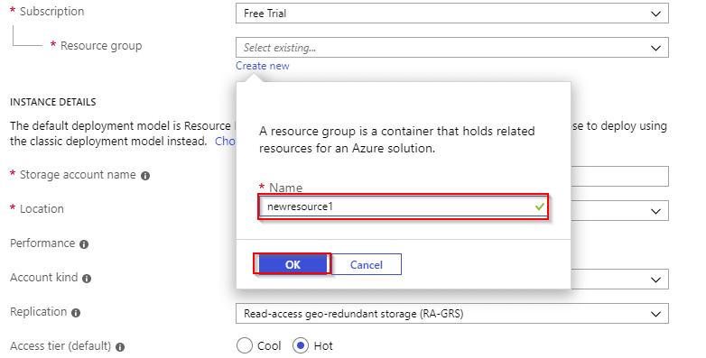 Azure Storage resource group-Azure Storage-Intellipaat