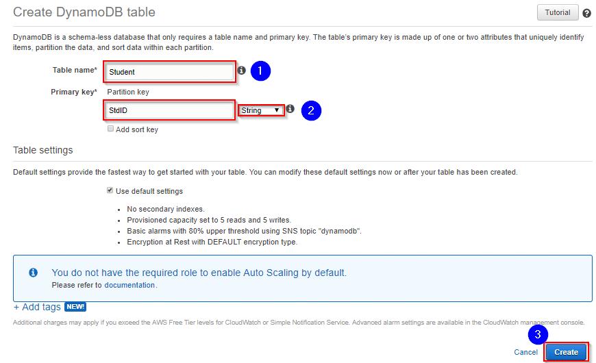 AWS DynamoDB - Amazon DynamoDB - Tutorial - Intellipaat