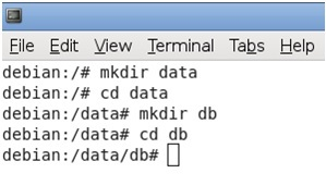 Create a Data Directory