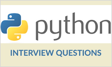 Python Interview Questions  Interview Questions