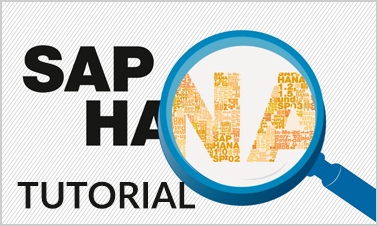 SAP HANA tutorials