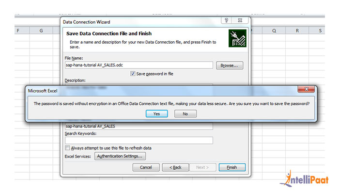 Sap Hana Integrations with Excel