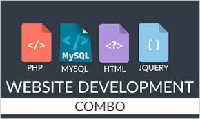 PHP, MySQL, HTML, jQuery Training - Website Development - All in 1 Combo Course Image