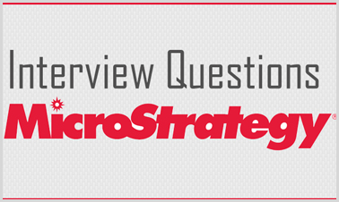microstrategy interview questions