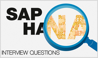 sap hana interview questions