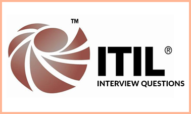 ITIL interview questionsl