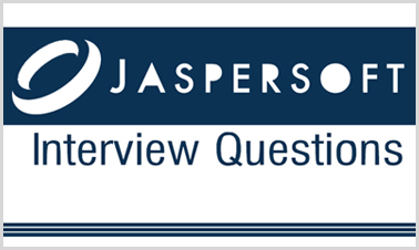 jaspersoft interview questions
