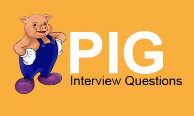 PIG Interview Question