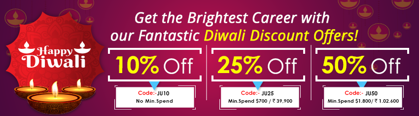 Learn offer banner( Diwali)