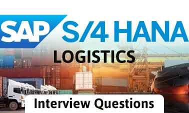 S4 HANA Logistics IQ