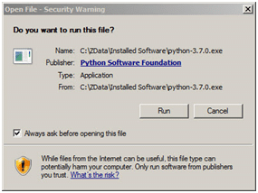 Python distribution download