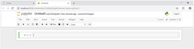 new python kernel to write a new program