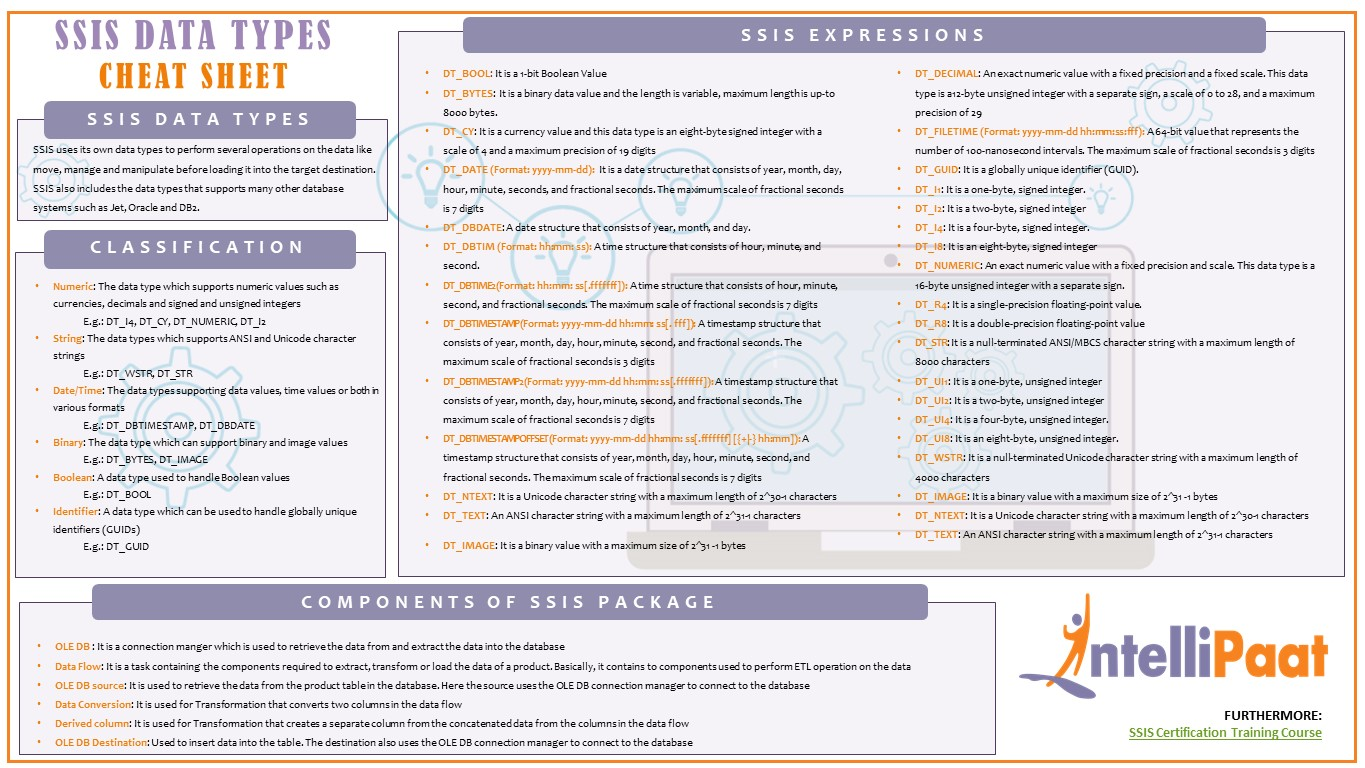 ssis data types PPT