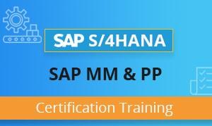 SAP MM Training Certification Course - SAP PP Training