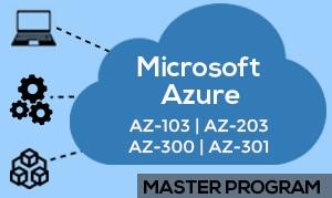 Microsoft Azure Master's Program image
