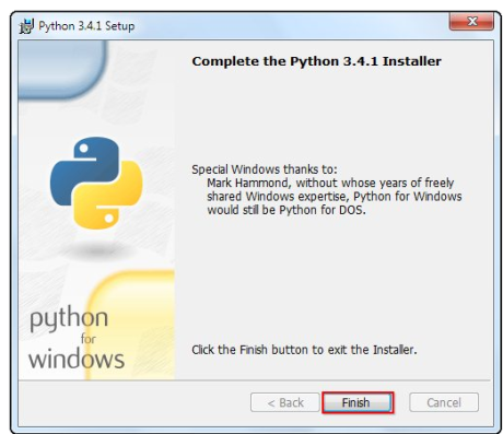 python installation5