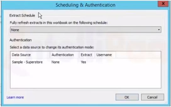 Scheduling and authentication